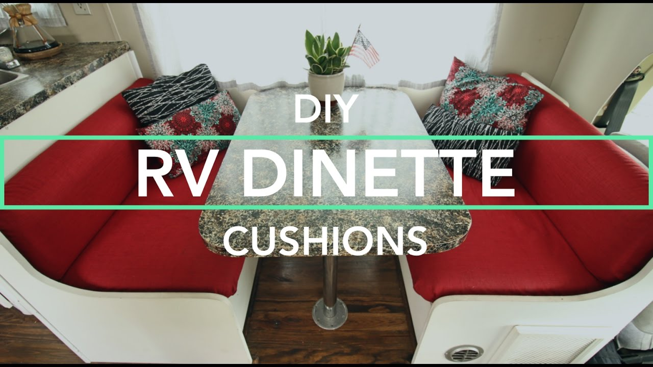 Making Custom Rv Cushions Curtains For Our Rv Remodel