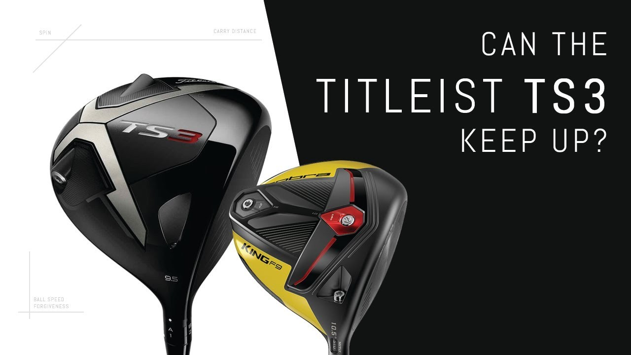 Can the Titleist TS3 Driver keep up with Cobra F9?