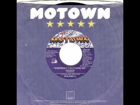 "Rockwell – ""Somebody's Watching Me (instrumental)"" (Motown) 1983"
