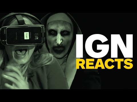 Make IGN Reacts to The Conjuring 2 VR Trailer Images
