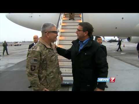 U.S. Defense Secretary Ash Carter visits Afghanistan