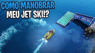 Como manobrar meu Jet Ski?
