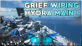 GANG GANG Grief Wiping Hydra MAIN   Official PvP   ARK Survival Evolved Gameplay