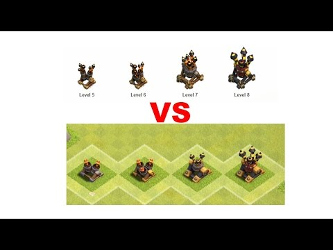 Clash of Clans New Air Defence Looks Inferno and mortar upgrades
