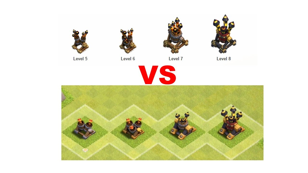 Clash of Clans New Air Defence Looks Inferno and mortar ...