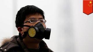 Ekstremalne zanieczyszczenie powietrza w Chinach