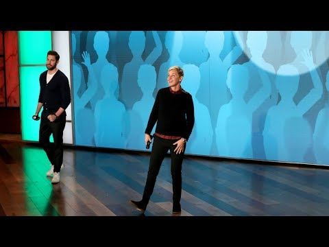 John Krasinski and Ellen Put Audience Members 'On the Spot'