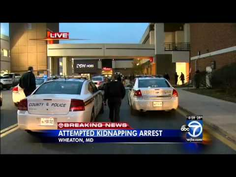 Attempted Kidnapper Arrested At Westfield Wheaton Mall