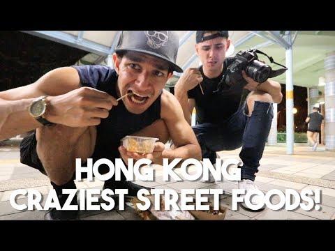 Street Foods of Hong Kong (WE TASTE THEM ALL!)