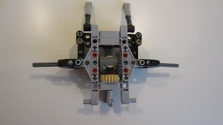 LEGO Small Steering/Drive Front Axle
