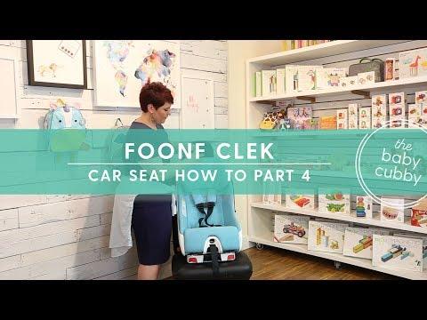 Clek Foonf PART 4: Convertible Car Seat How To Install Forward-Facing