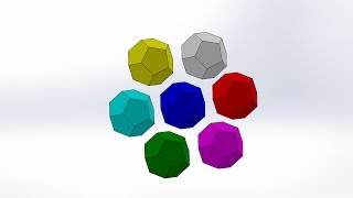 How to get Dodecahedron out of Sphere by SolidWorks thumbnail