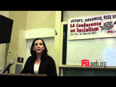 Socialism: The Alternative to the Rule of the 1% - Muna Coobtee