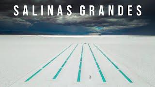 SALINAS GRANDES- Van Life Argentina