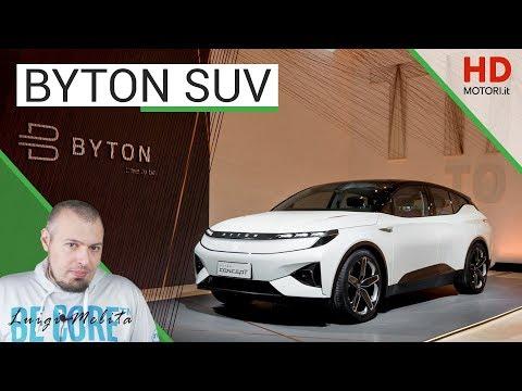 BYTON SUV: il concept elettrico con schermo da 49 pollici e controlli a gesti | anteprima