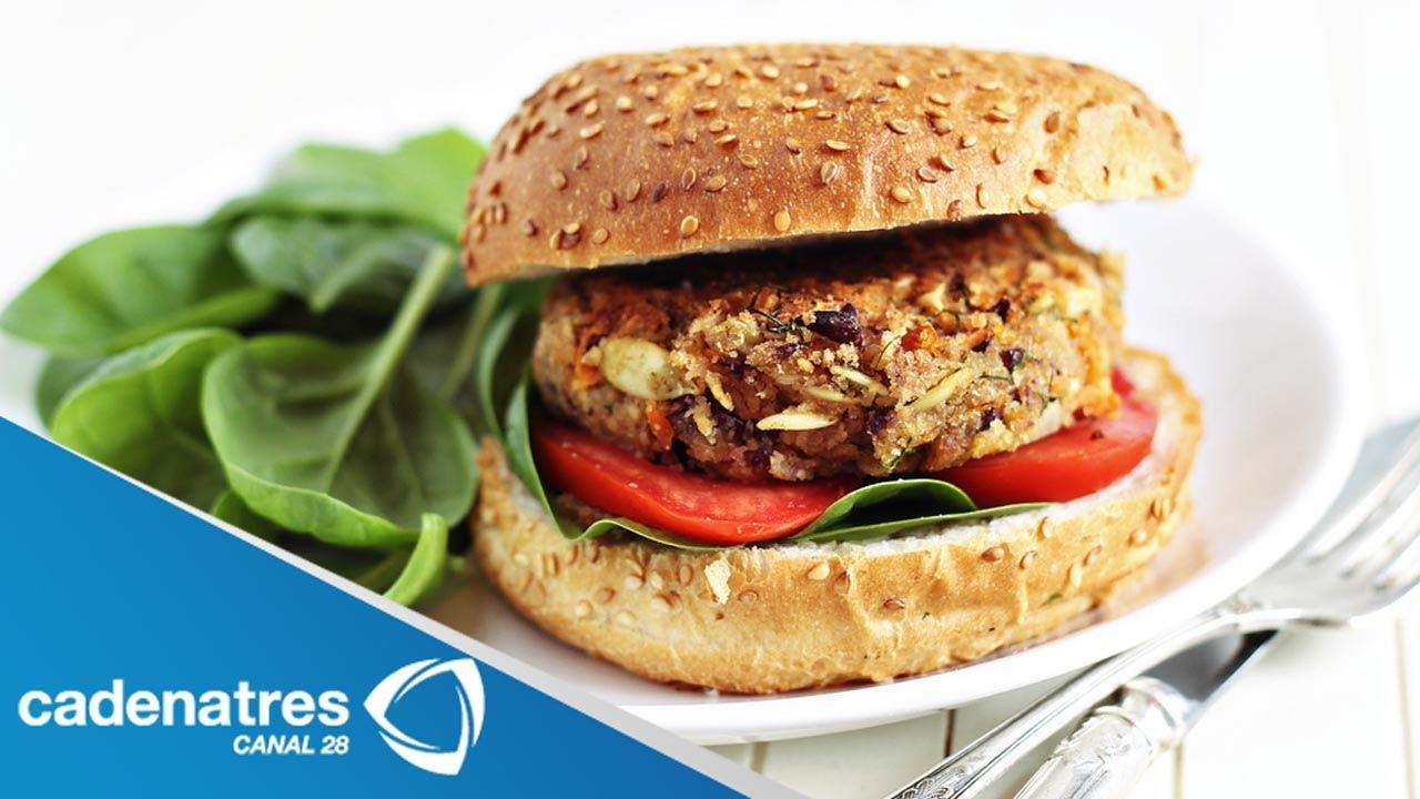 Preparar hamburguesas vegetarianas caseras