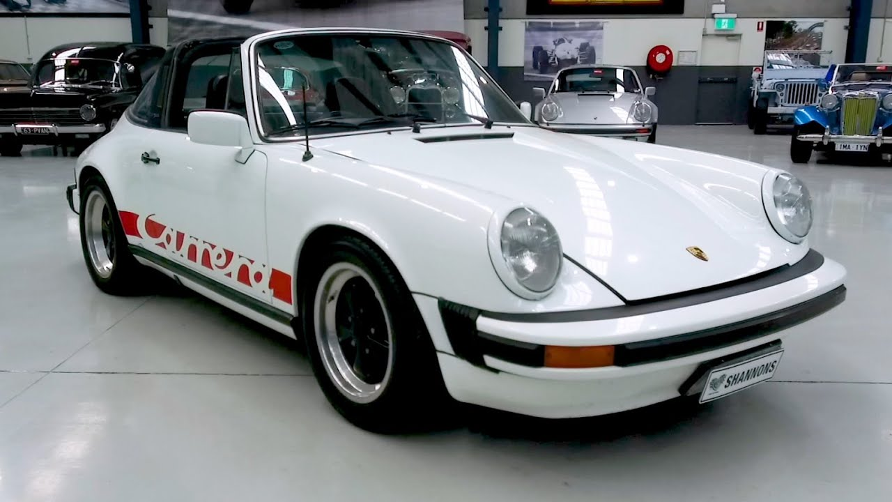 1979 Porsche 911SC 'Targa' Coupe - 2020 Shannons Winter Timed Online Auction