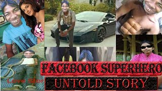 FACEBOOK SUPERHERO LIPSTICK REMOVER with Serial kisser-FUNNY UNTOLD STORY