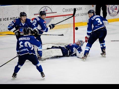 Sakhalin - Freeblades 3:4 OT. Goals