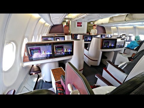 Qatar Airways FIRST CLASS Review from Cairo to Doha | Airbus A330-200