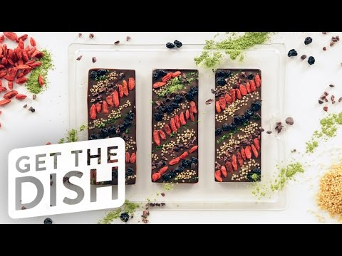How to Make a DIY Superfood Chocolate Bar | Get the Dish