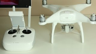 DJI Phantom 4 Drone: Unboxing, Initial Setup and Quick Demonstration