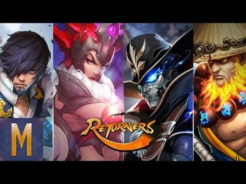 TACTICAL RPG! Returners (Nexon) - First Impressions! (Android & IOS 2018)