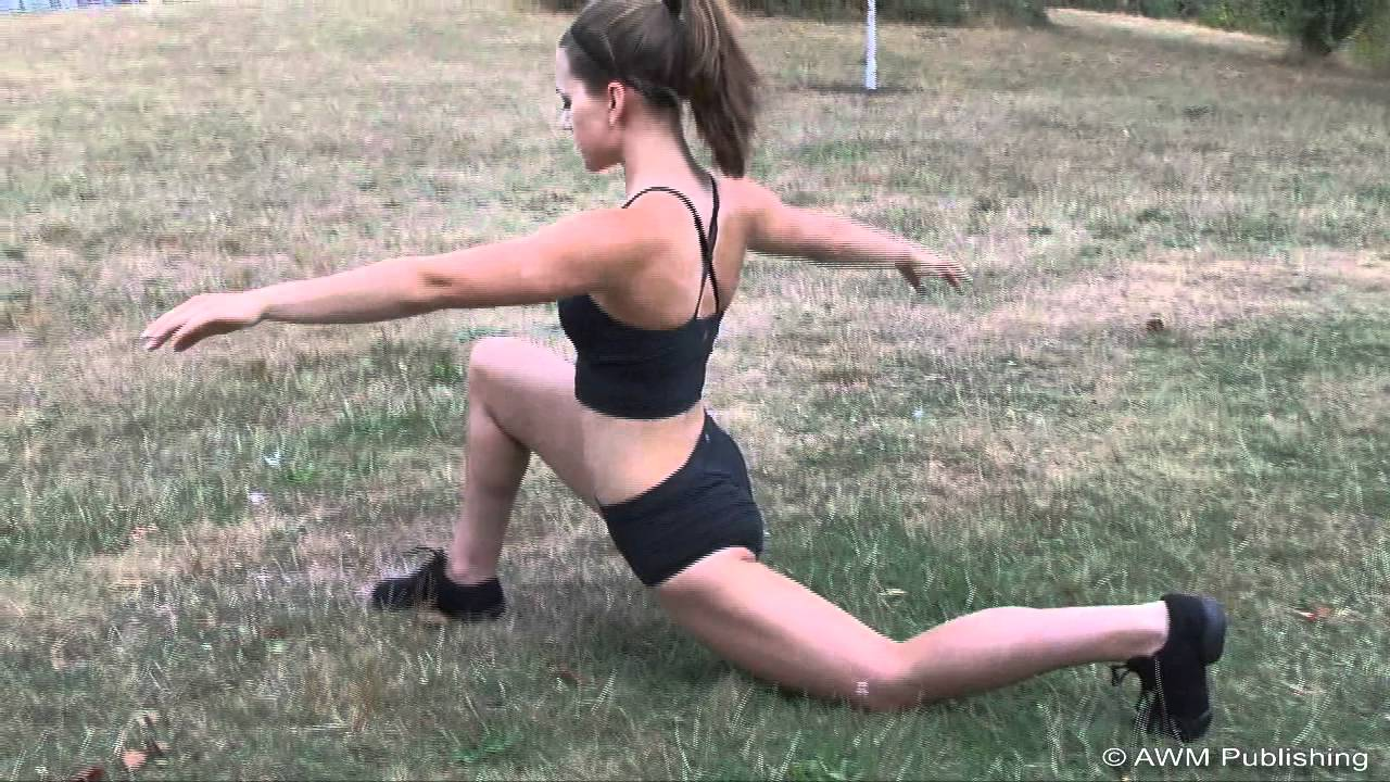 Beginner Box Splits, Lunge and Straddle with Kino - YouTube