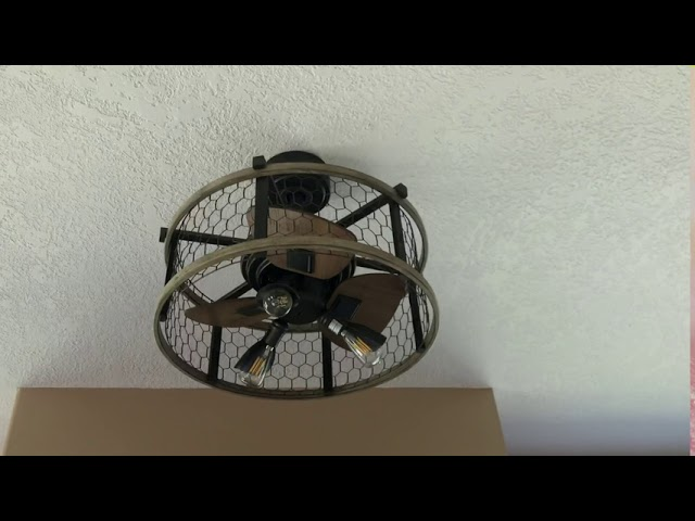 21 Patriot Lighting Brooklyn Ceiling Fan X2 Youtube