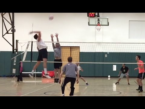 Open Gym (2/18/16) Volleyball Highlights