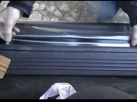 Install Clear Door Sill Protectors Dry Normal Size