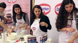 Dr. Oetker - Ankara Kahve & Çikolata Festivali - Köstebek Cupcake  Atölyesi