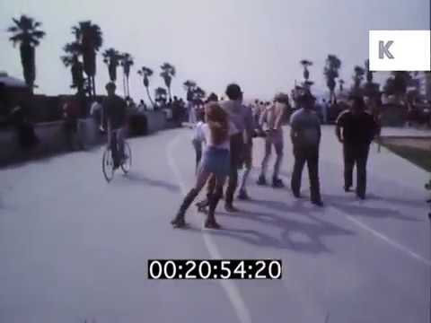 Hanging Out at Venice Beach, 1984 Los Angeles