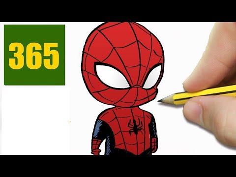 Come Disegnare Spiderman Passo Dopo Passo Disegni Facile Youtube