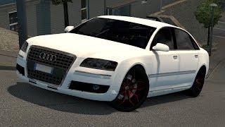 [1.33] Euro Truck Simulator 2 | Audi A8 By Diablo | Mods