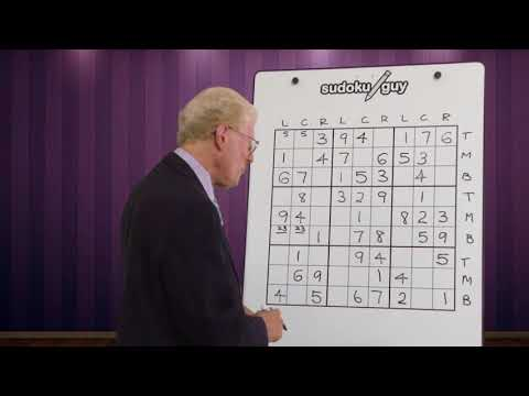Very Important Hints For Solving Sudoku Puzzles.  Lesson 4.