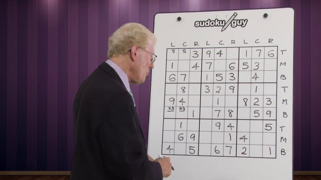 Very important hints for solving sudoku puzzles  Lesson 4