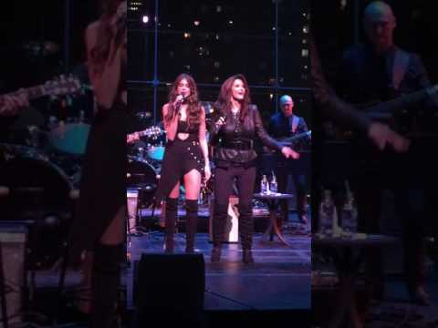 Lynda Carter and The Beautiful Jessica Altman Carter doing a mother and daughter Duet