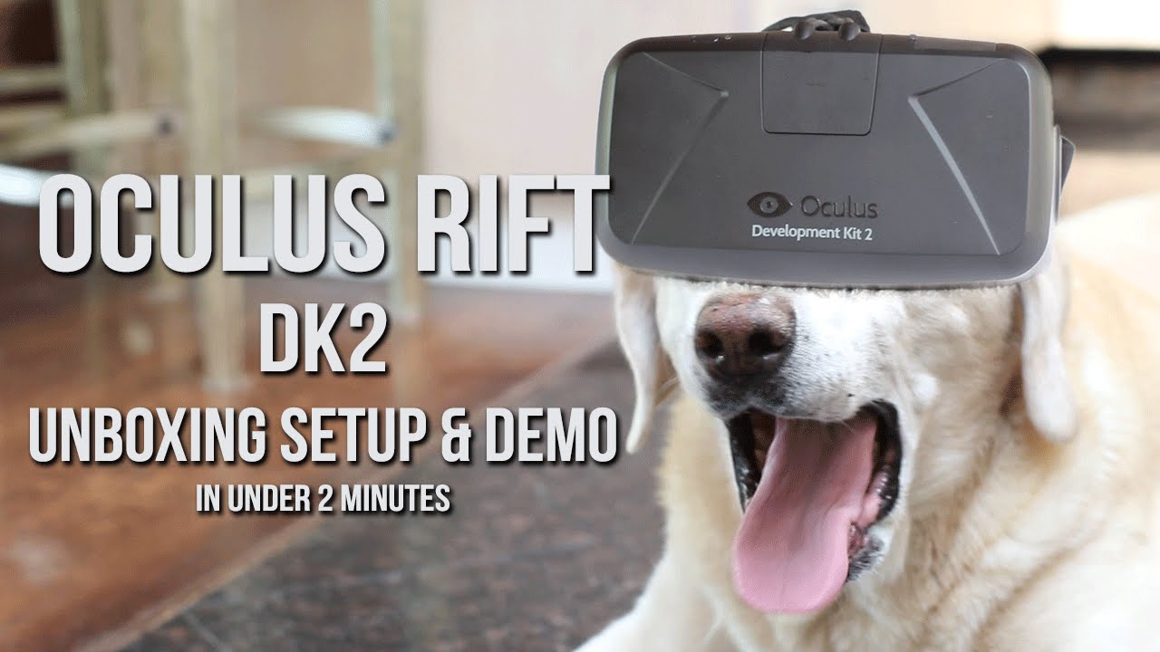 Oculus Rifk DK2 - Unboxing Setup and Demo in Under 2 ...