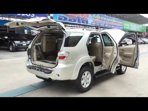 รีวิว 2009 TOYOTA -- FORTUNER -- 3.0 [V] AT RWD จาก srshowroom.com