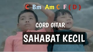 Lirik lagu dan kunci gitar SAHABAT KECIL BETRAND PETO