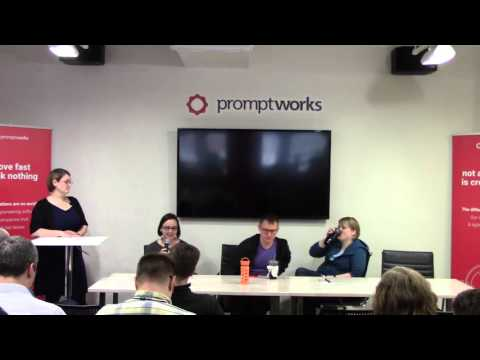 Panel: Cultivating the craft of software engineering - PTW16 Sr. Dev Day at PromptWorks