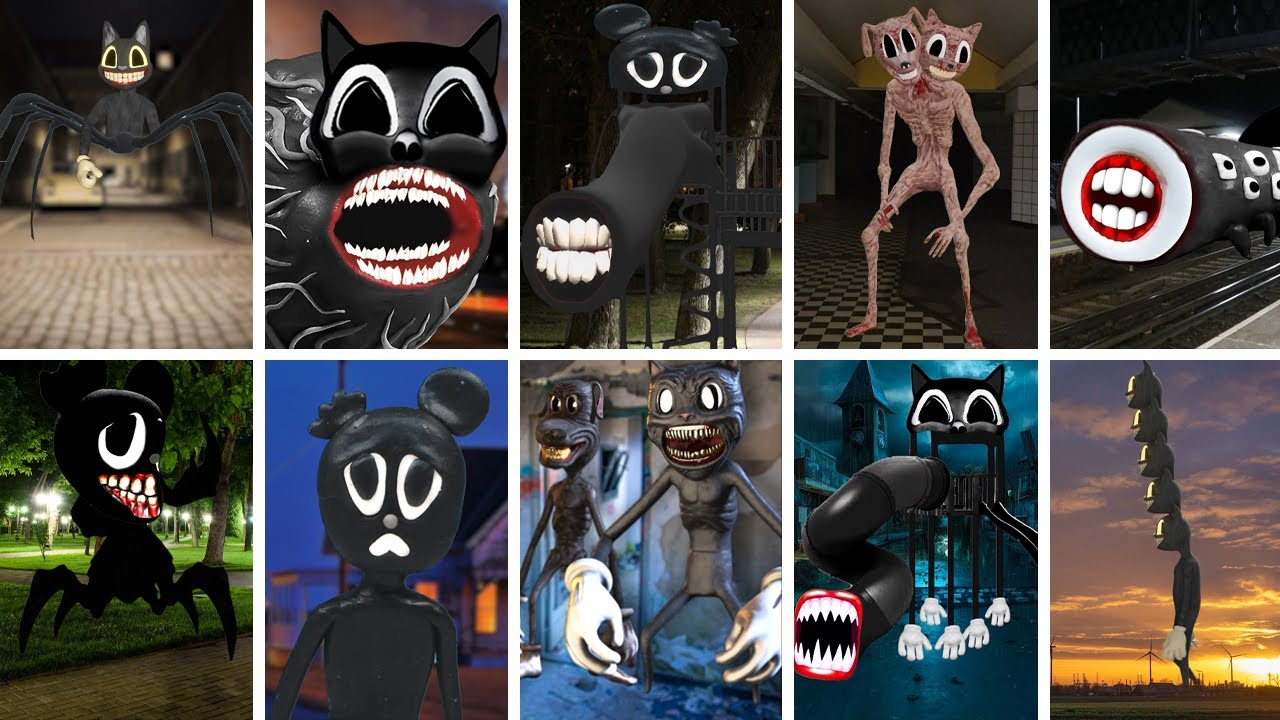 All Cartoon CREATURES CAUGHT on CAMERA..! #3