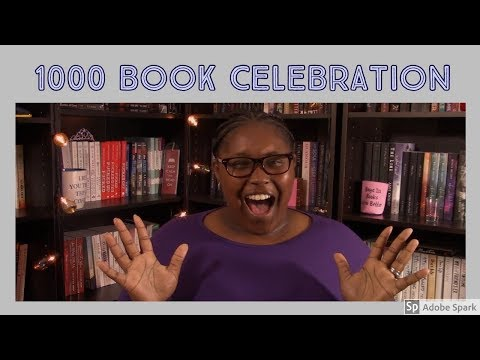 1000 Book Celebration | How Many Books Have You Read??