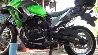 Kawasaki Versys X 300 - 15 Tooth Sprocket Installation