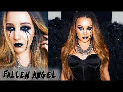 Halloween Makeup Tutorial | Fallen Angel thumbnail