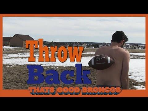 Denver Broncos Throwback Thursday