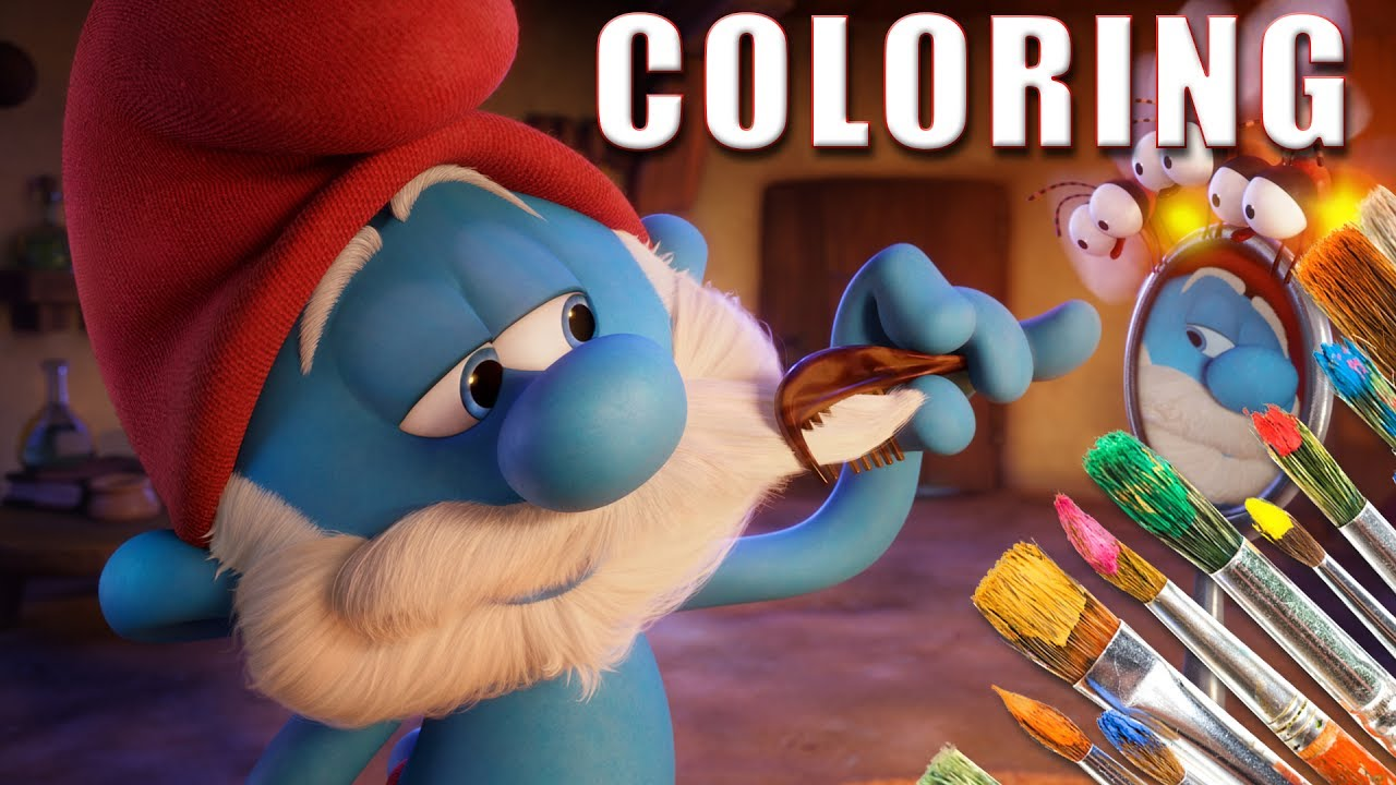 Smurfs The Lost Village Coloring Pages