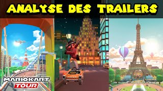 MARIO KART TOUR - Analyse des Trailers