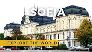 Walking in Sofia 4K, Bulgaria